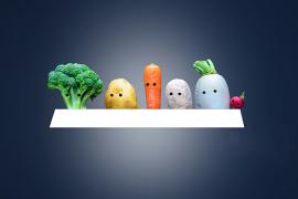 一张图了解食物生成血糖的能力